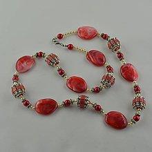 Náhrdelníky - Sylvia náhrdelník - 10946918_