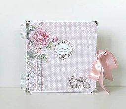 Papiernictvo - Svadobná kniha hostí - 10946589_