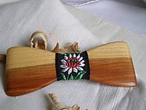 Iné doplnky - Pánsky folk motýlik - 10946922_