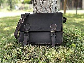 Tašky - Pánska kožená taška - 10946580_