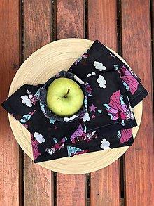Úžitkový textil - Voskuľkové vrecko - SUPERHRDINKA - 10946524_