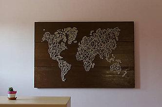 Obrazy - Mapa sveta - 10945962_