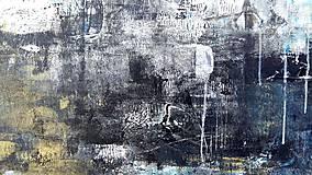 Obrazy - abstraktné obrazy, Posolstvo tmavej noci, 130x90 - 10947149_