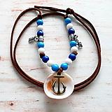 Náhrdelníky - náhrdelník pre námorníčku :-) - 10946224_