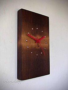 Hodiny - hodiny dubovomedené 5 - 10947775_