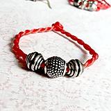 Náramky - Lucky Red Pandora Style Bracelet / Náramok proti urieknutiu - 10948649_
