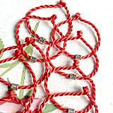 Náramky - Lucky Red Zodiac Sign Bracelet / Náramok proti urieknutiu so symbolom znamenia - 10949213_