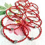 Náramky - Lucky Red Zodiac Sign Bracelet / Náramok proti urieknutiu so symbolom znamenia - 10949214_