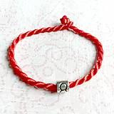 Náramky - Lucky Red Zodiac Sign Bracelet / Náramok proti urieknutiu so symbolom znamenia - 10949216_