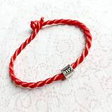 Náramky - Lucky Red Zodiac Sign Bracelet / Náramok proti urieknutiu so symbolom znamenia - 10949225_