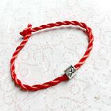 Náramky - Lucky Red Zodiac Sign Bracelet / Náramok proti urieknutiu so symbolom znamenia - 10949230_