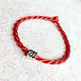 Náramky - Lucky Red Zodiac Sign Bracelet / Náramok proti urieknutiu so symbolom znamenia - 10950363_