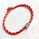Náramky - Lucky Red Zodiac Sign Bracelet / Náramok proti urieknutiu so symbolom znamenia - 10950365_
