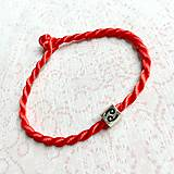 Náramky - Lucky Red Zodiac Sign Bracelet / Náramok proti urieknutiu so symbolom znamenia - 10950367_