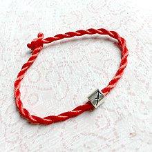 Náramky - Lucky Red Zodiac Sign Bracelet / Náramok proti urieknutiu so symbolom znamenia (Strelec) - 10949230_