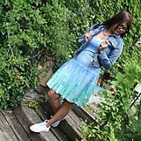 Šaty - Letné kvetinky... - 10948258_