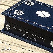 Krabičky - Malovaná krabice na fotky - 10947821_