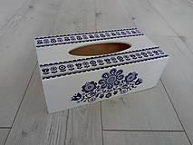 Krabičky - Krabička na vreckovky - 10949028_
