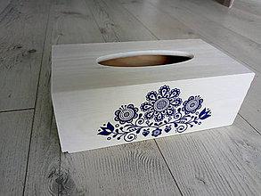 Krabičky - Krabička na vreckovky - 10949034_