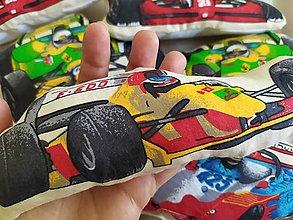 Hračky - Formula, textilné autíčko - 10948135_