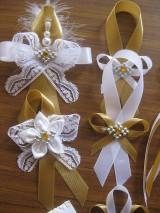 Pierka - Svadba v zlatom - pierko malé - 10948822_