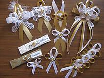 Pierka - Svadba v zlatom - pierko malé - 10948851_