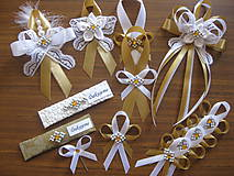 Pierka - Svadba v zlatom - pierko malé - 10948853_