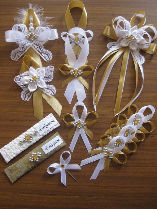 Svadba v zlatom - pierko malé