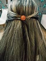 Ozdoby do vlasov - Maľované sponky do vlasov - 10949618_