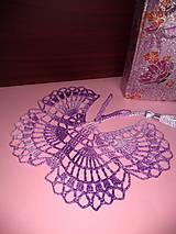Papiernictvo - Záložka motýlik - 10948439_
