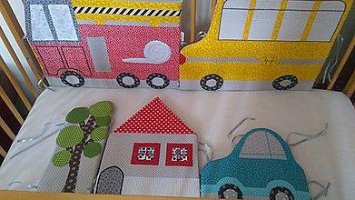 Textil - Autíčkový mantinel - 10949437_