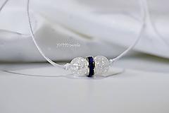 Náramky - Jemný luxus Krištáľ - 10950089_