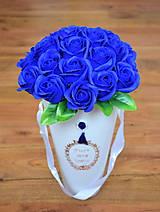 Dekorácie - LUXURY CORNET WHITE (Modrá) - 10948911_