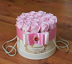Dekorácie - SPLENDID FLOWER BOX S (Ružová) - 10949027_