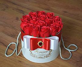 Dekorácie - SPLENDID FLOWER BOX S (Červená) - 10949072_