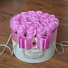 Dekorácie - SPLENDID FLOWER BOX M (Ružová) - 10949075_