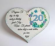 "Drobnosti - Srdce k ""20-tke"" - 10949457_"