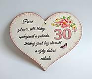 "Drobnosti - Srdce k ""30-tke"" - 10949474_"