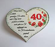 "Drobnosti - Srdce k ""40-tke"" - 10949487_"
