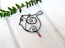 Dekorácie - Vtáčik pre radosť - 10947994_