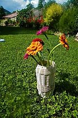 Dekorácie - Vázy z pedigu - 10949443_