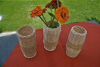 Dekorácie - Vázy z pedigu - 10949417_