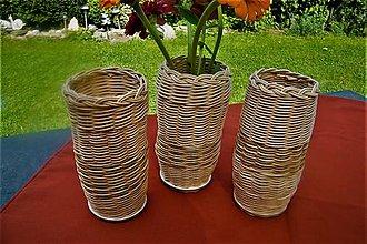 Dekorácie - Vázy z pedigu - 10949429_