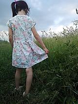 Detské oblečenie - Šaty ruže - 10953879_