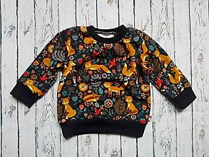 Detské oblečenie - Mikina líška - 10953883_