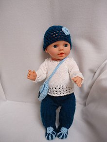 Hračky - bábika - oblečko 4 - 10953536_