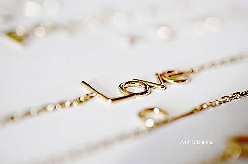Náramky - LOVE náramok - 10953559_