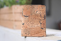 Tašky - Korková peňaženka unisex originálna kresba III. - 10952935_
