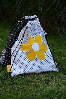 Batohy - Batoh/backpack žltý kvet - 10819838_