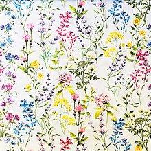 Textil - lesná lúka, 100 % predzrážaná bavlna Španielsko, šírka 150 cm - 10950614_